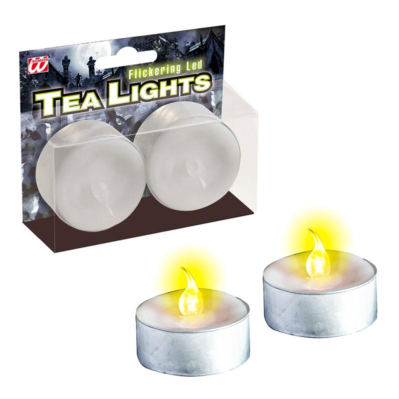 LED Värmeljus - 2-pack