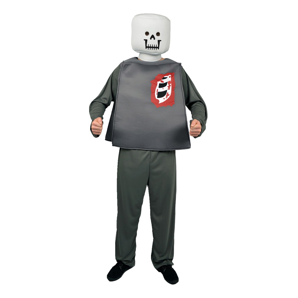 Legozombie Maskeraddräkt - One size
