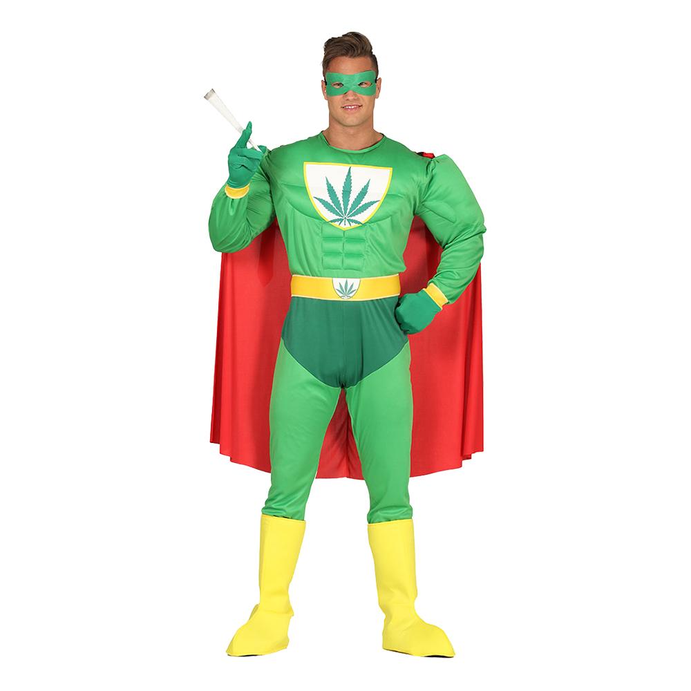 Liberal Superhjälte Maskeraddräkt - Standard
