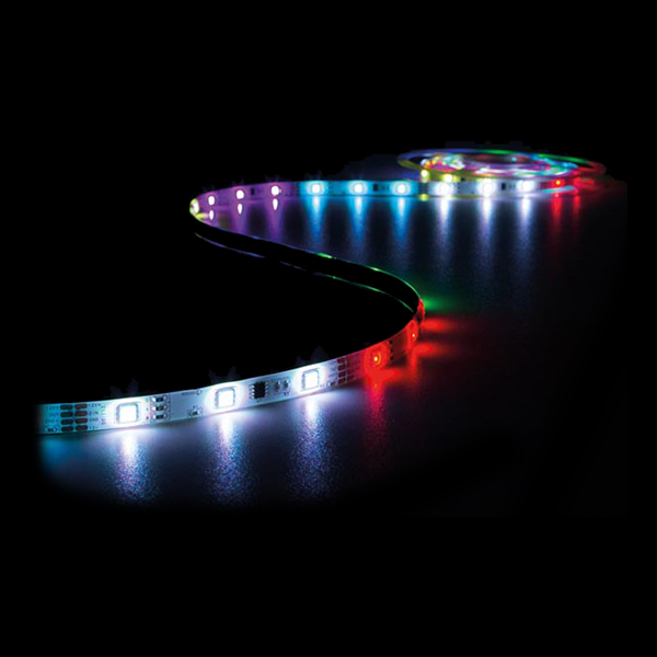 Ljusslinga LED Flerfärgad med Fjärrkontroll Stor