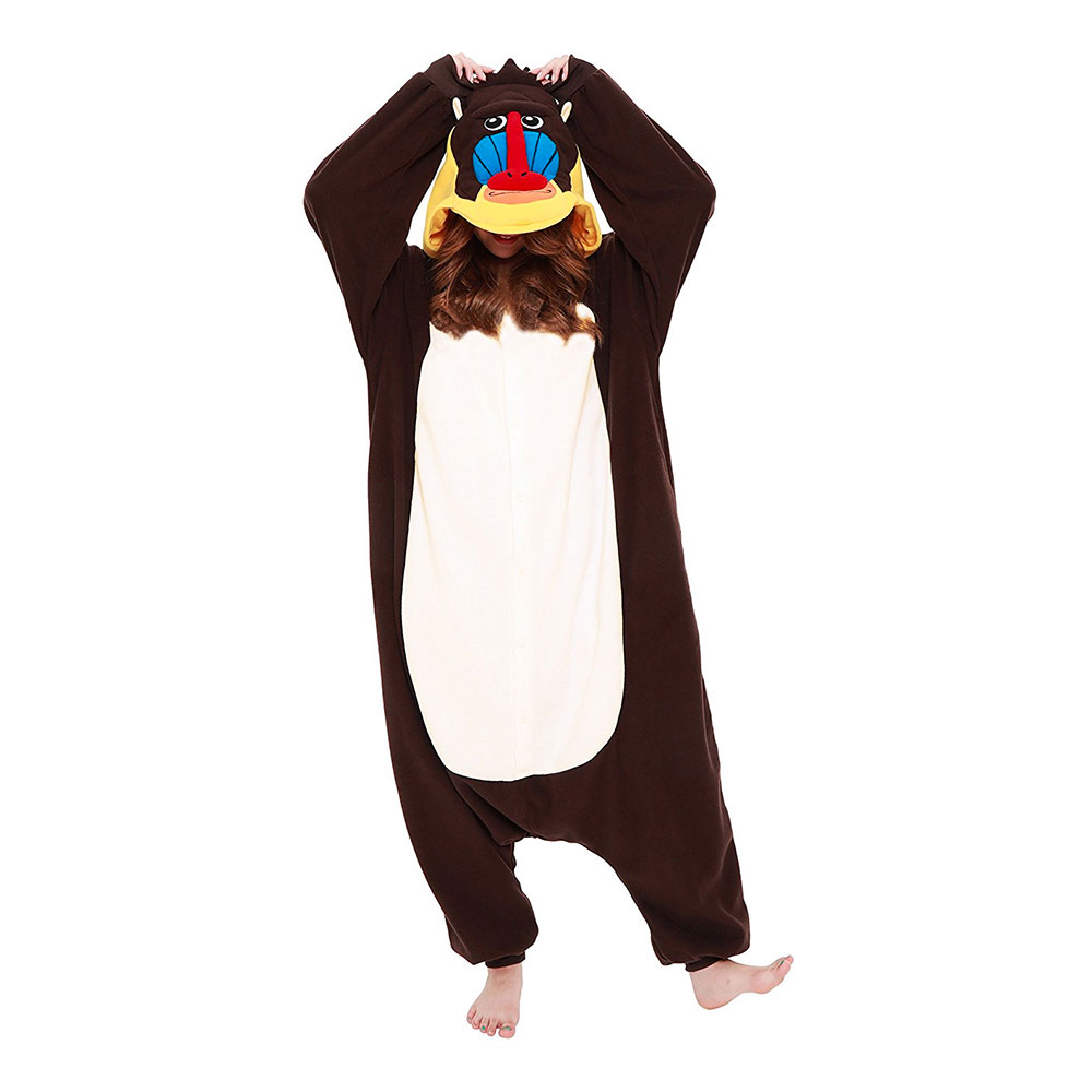 Mandrill Kigurumi - Medium