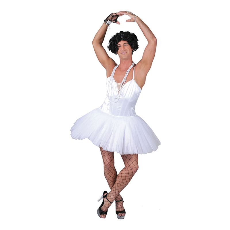 Manlig Ballerina Maskeraddräkt - One size