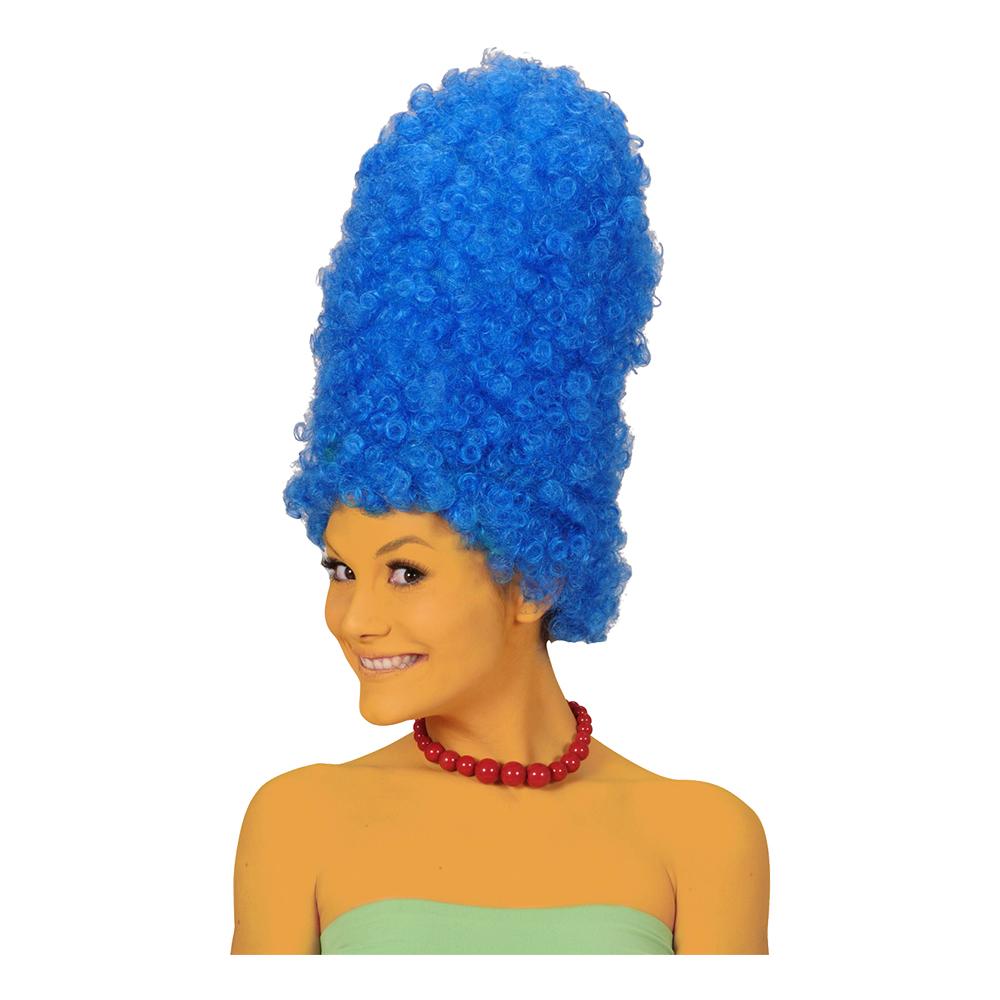 Marge Blå Peruk