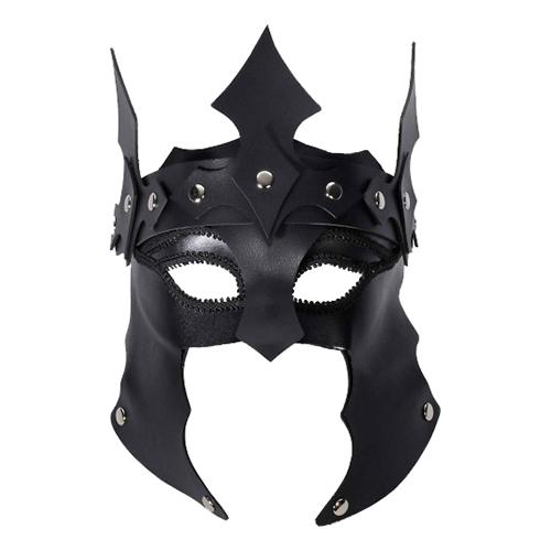 Medeltida Lädermask - One size