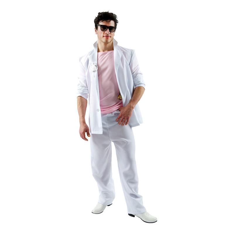 Miami Vice Detektiv Maskeraddräkt - Standard – På vår site kan du med  enkelhet finna billigaste pris! 78a0727e4ddda