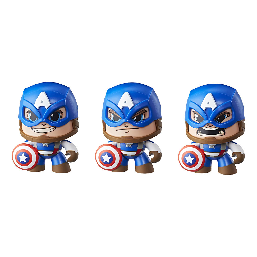 Mighty Muggs Captain America