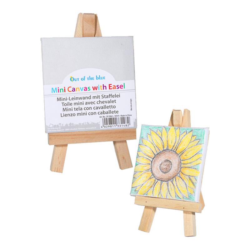Minicanvas med Staffli