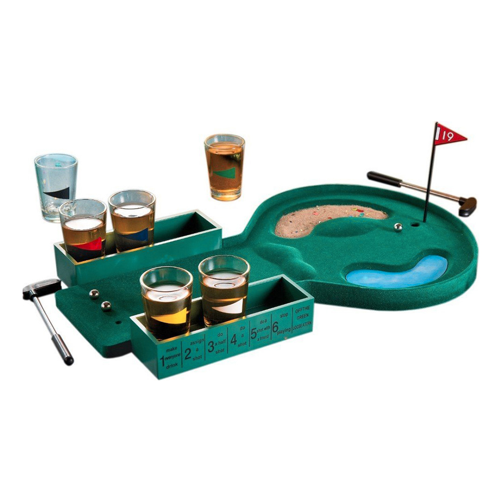 Minigolf Shotspel