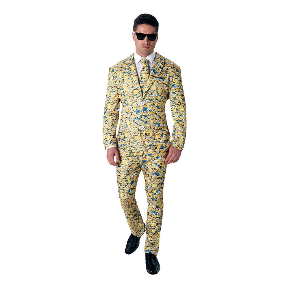 Minions Allover Kostym - Standard