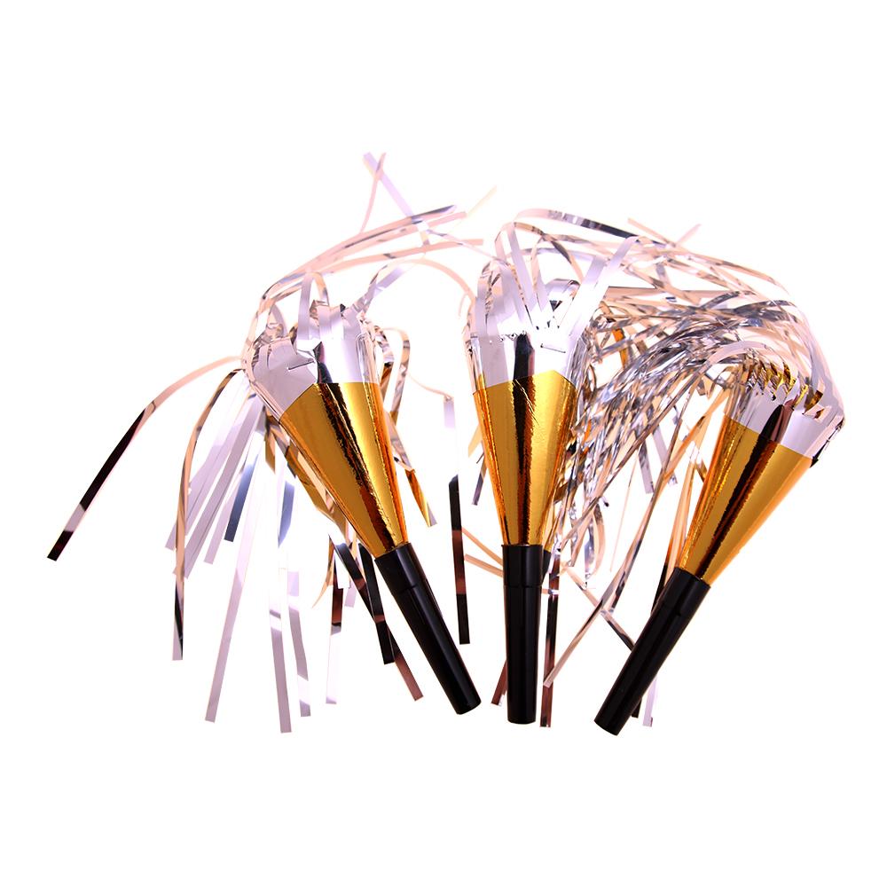 Minitrumpeter Guld - 4-pack