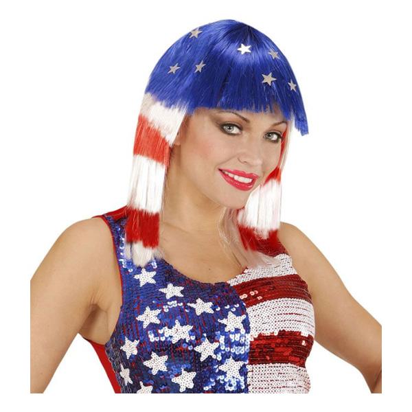 Miss America Peruk - One size