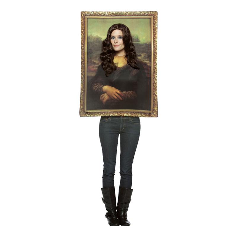 Mona Lisa Maskeraddräkt - One size