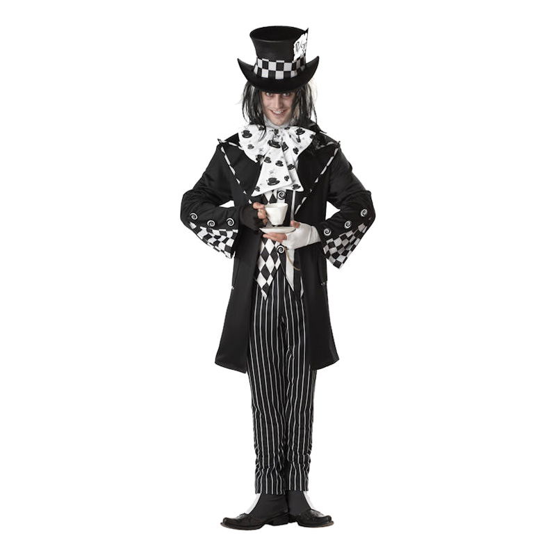 Mad Hatter Halloween Maskeraddräkt - Medium