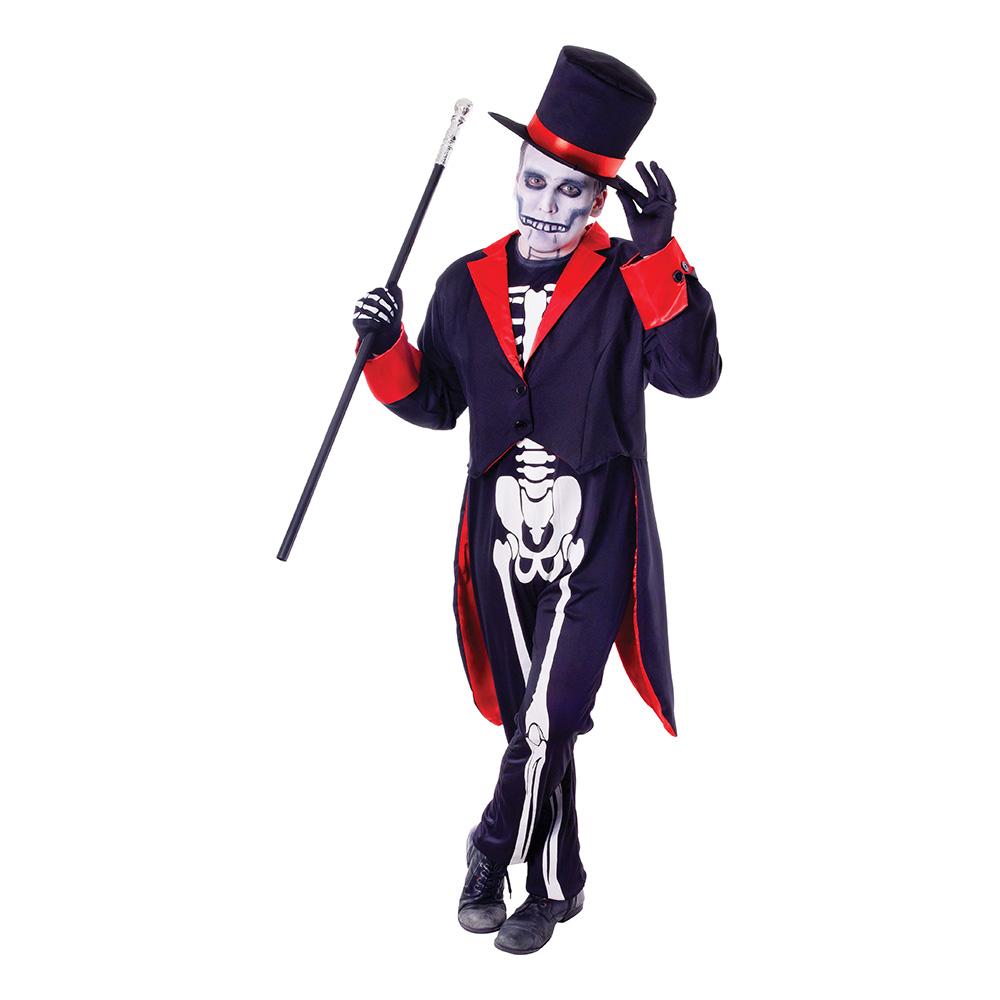 Mr Bone Jangles Maskeraddräkt - One size