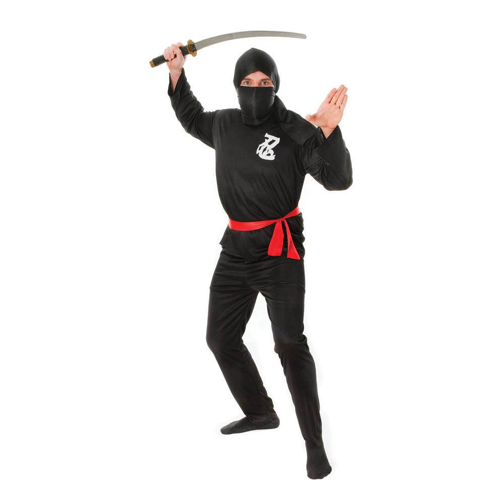Ninja Budget Maskeraddräkt - One size