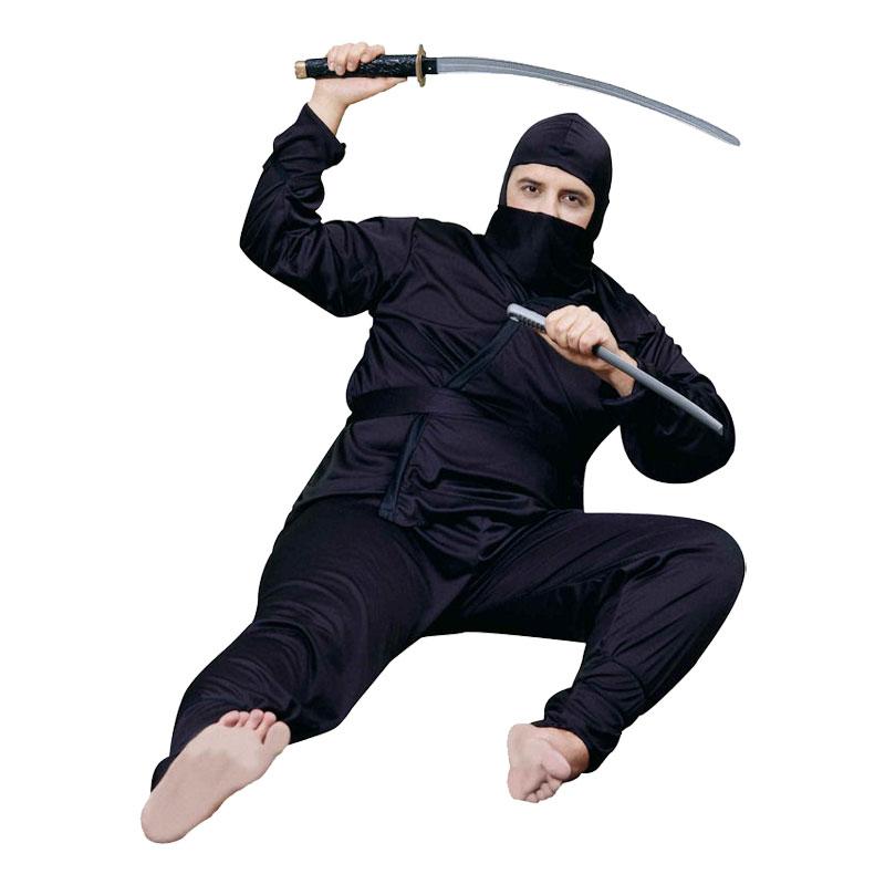 Ninja Plus-size Maskeraddräkt - Plus size