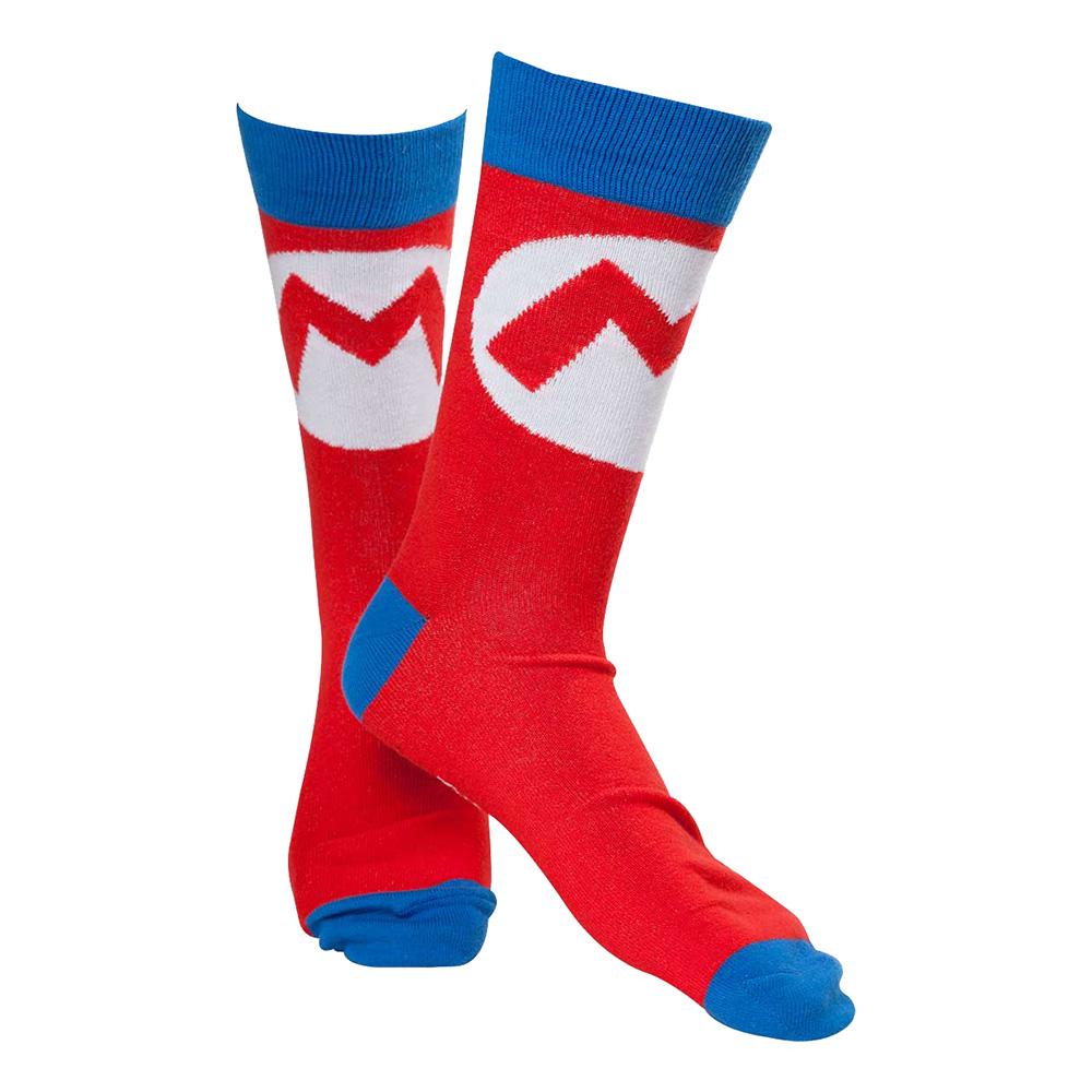 Nintendo Super Mario Logo Strumpor - 39-42 Billigt 79 kr f55c9eae1b3aa