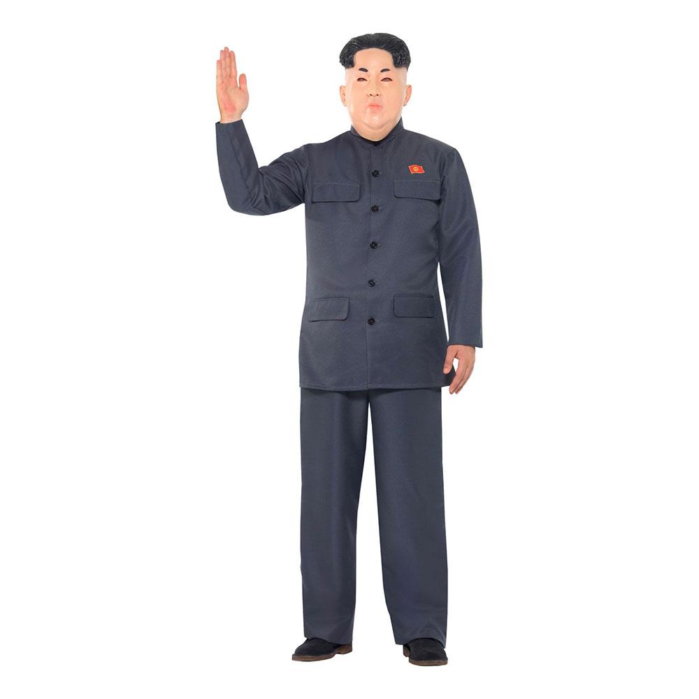 Maskeradkläder Vuxna - Nordkoreansk Diktator  - Large