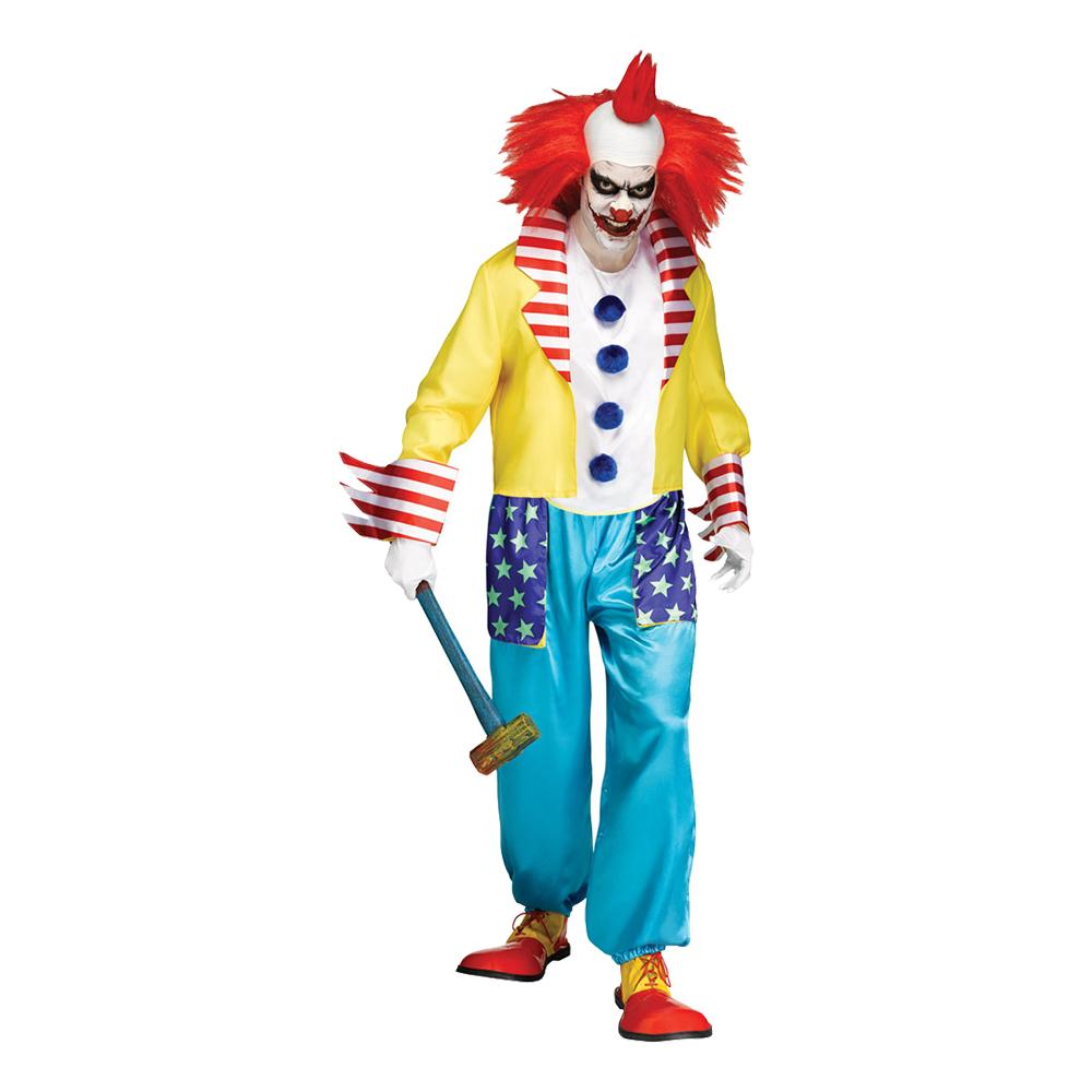Ond Clown Maskeraddräkt - One size