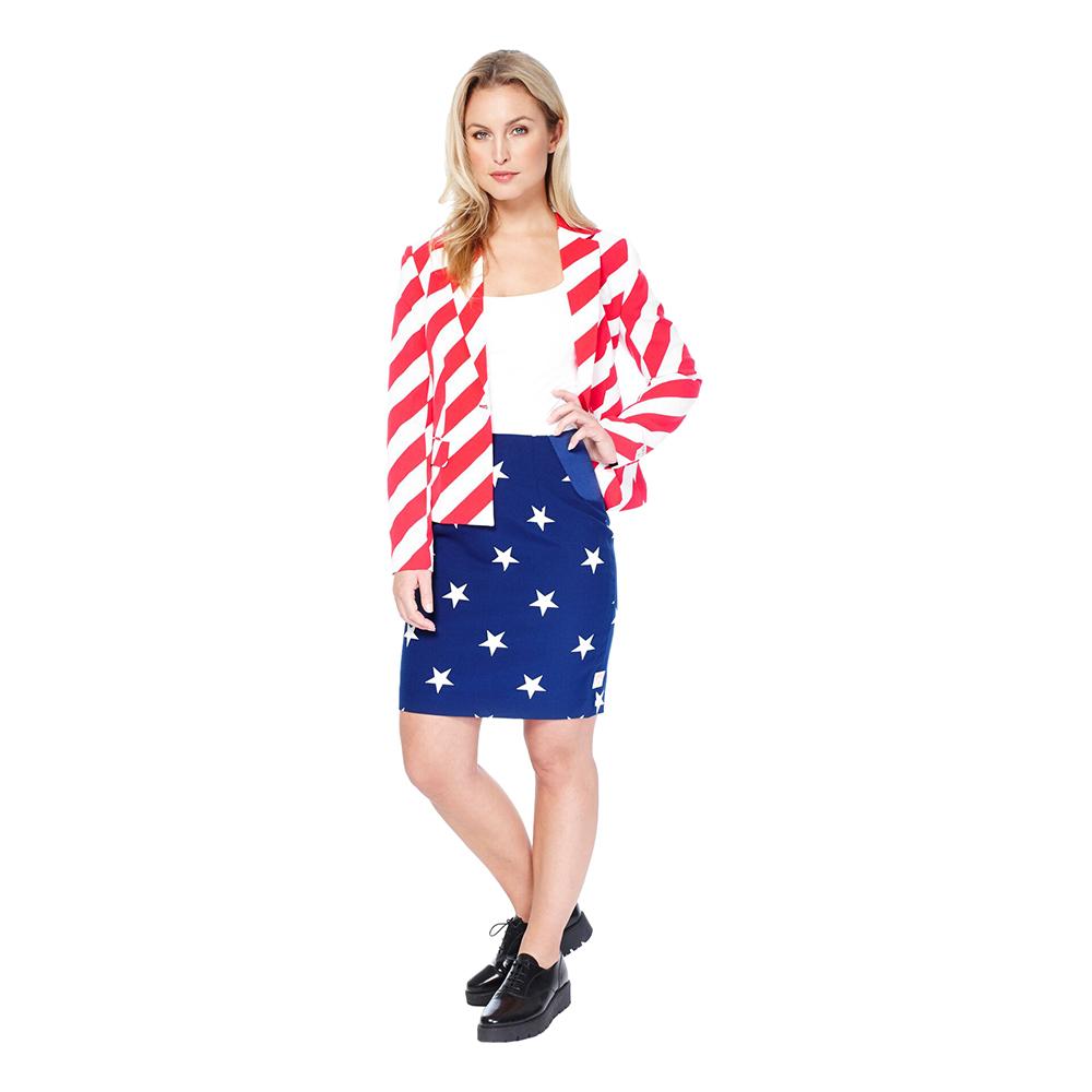 OppoSuits American Woman Dam Kostym - 34