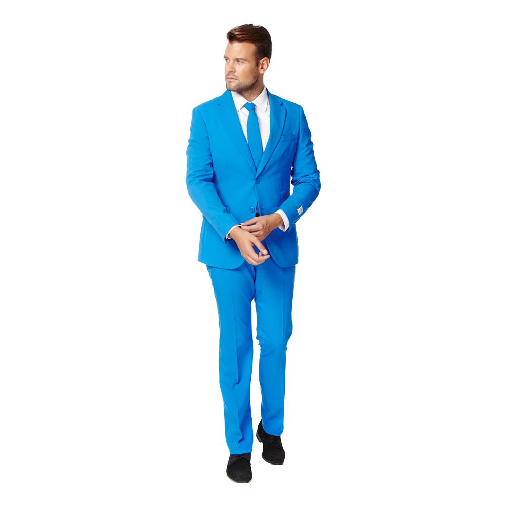 OppoSuits Blue Steel Kostym - 46