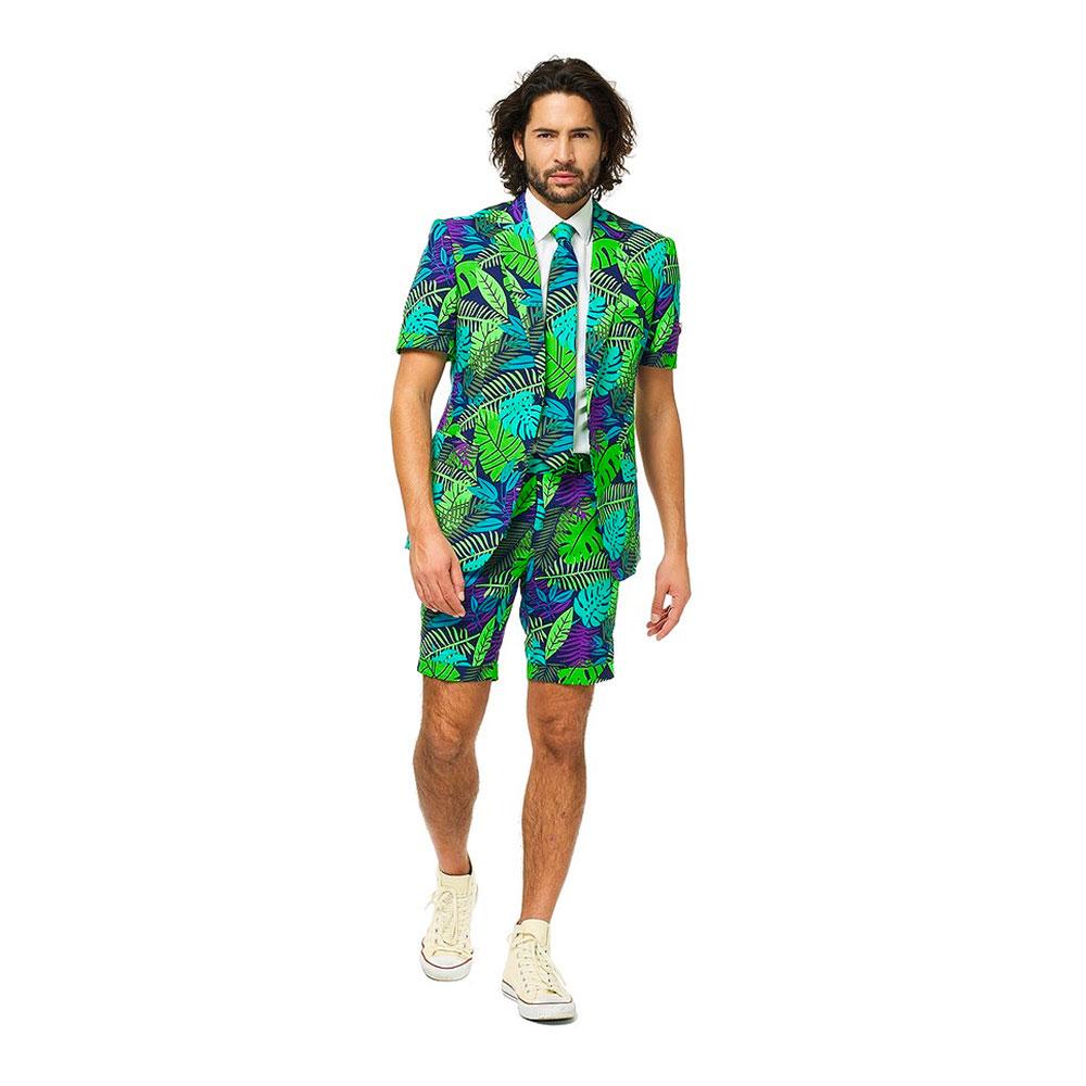 OppoSuits Juicy Jungle Shorts Kostym - 62