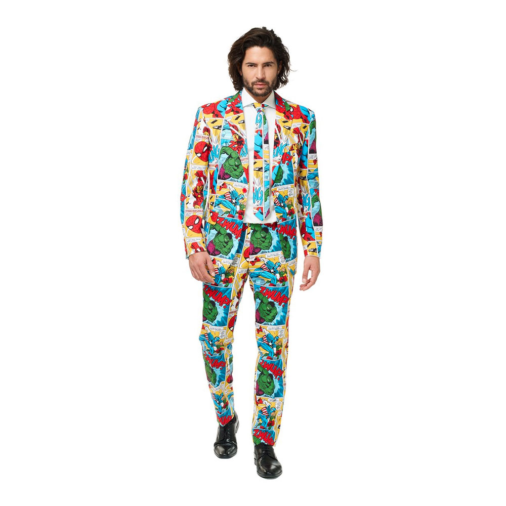 OppoSuits Marvel Comic Book Kostym - 46