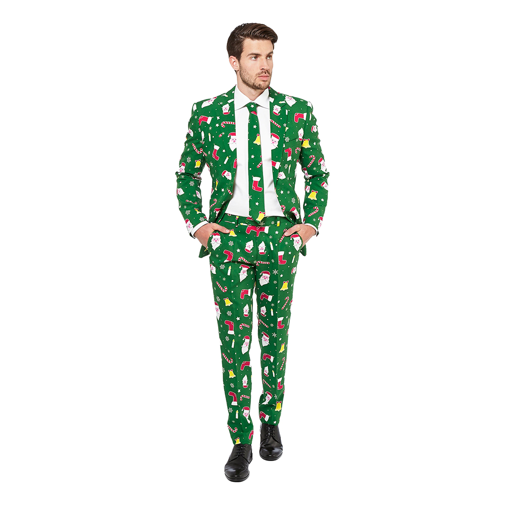 OppoSuits Santaboss Kostym - 56