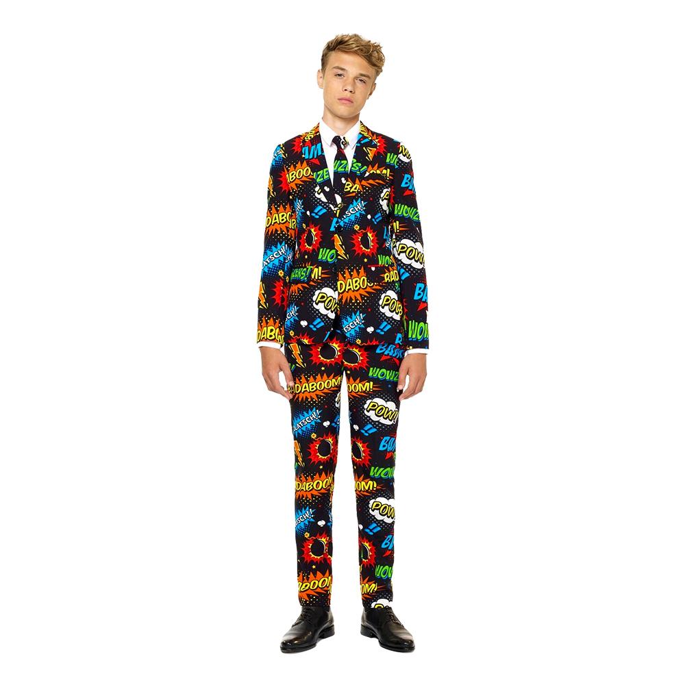OppoSuits Teen Badaboom Kostym - 134-140