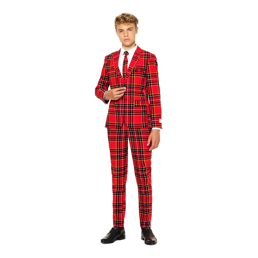 OppoSuits Teen The Lumberjack Kostym - 134/140