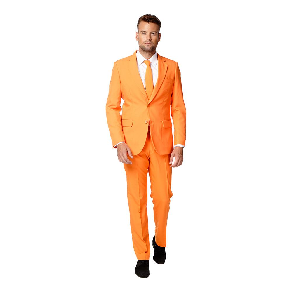 Maskeradkläder Vuxna - OppoSuits The Orange Kostym - 46
