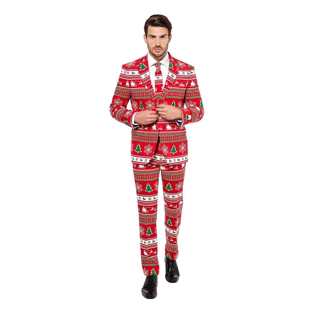OppoSuits Winter Wonderland Kostym - 46
