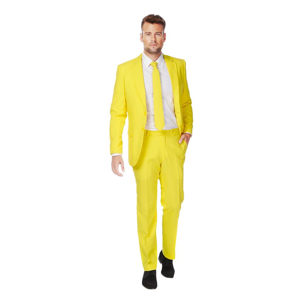 OppoSuits Yellow Fellow Kostym - 46