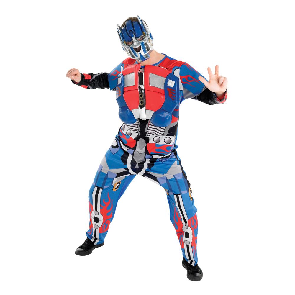 Optimus Prime Maskeraddräkt - Standard