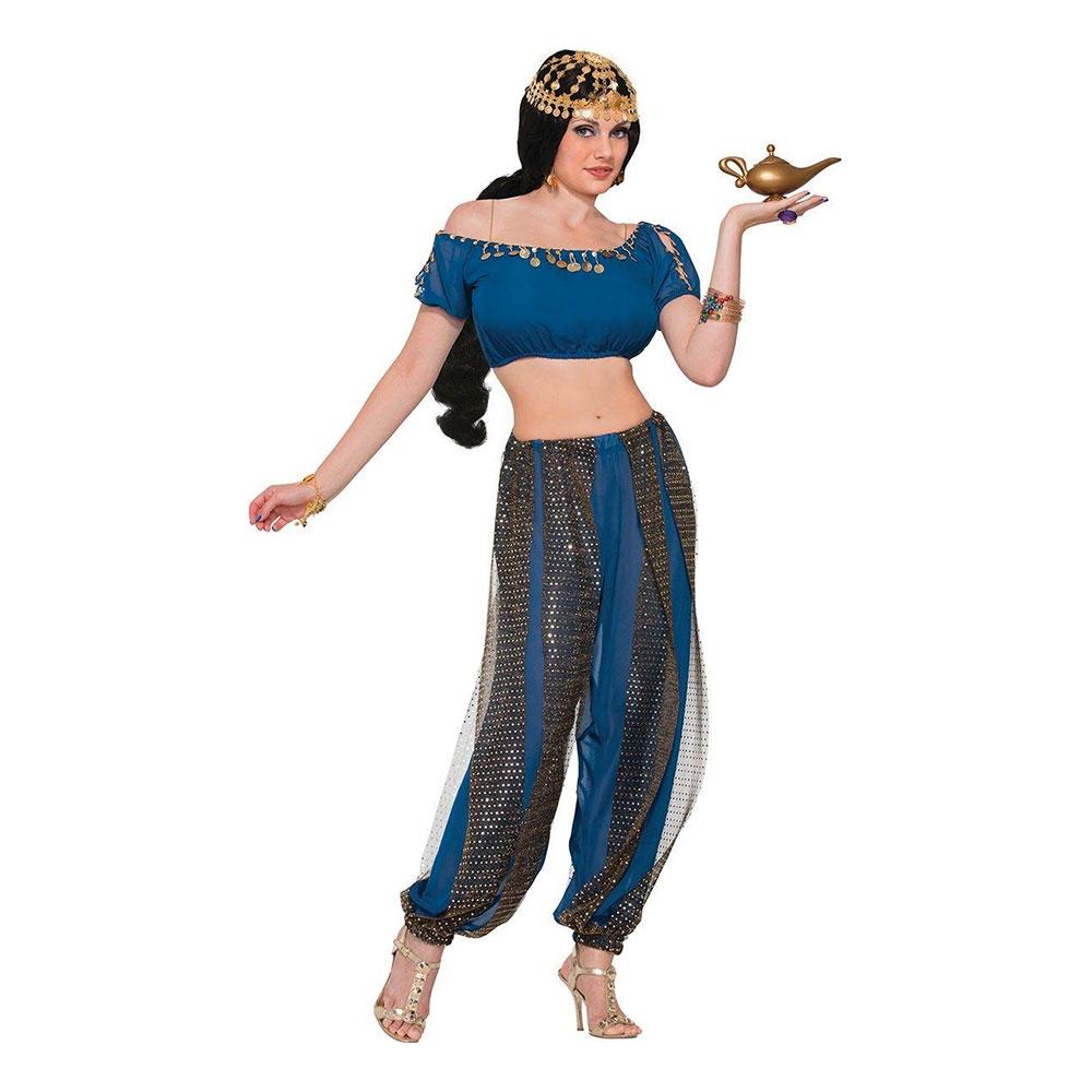 Orientalisk Dansare Maskeraddräkt - One size