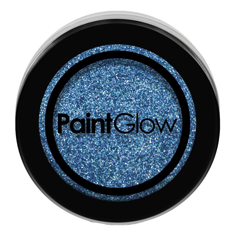 PaintGlow Nagelglitter - Blå