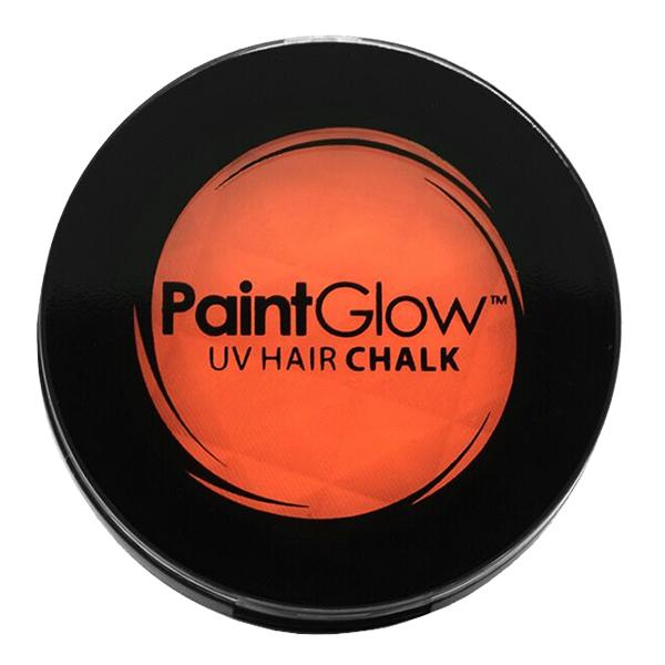 PaintGlow UV Neon Hårkrita - Orange