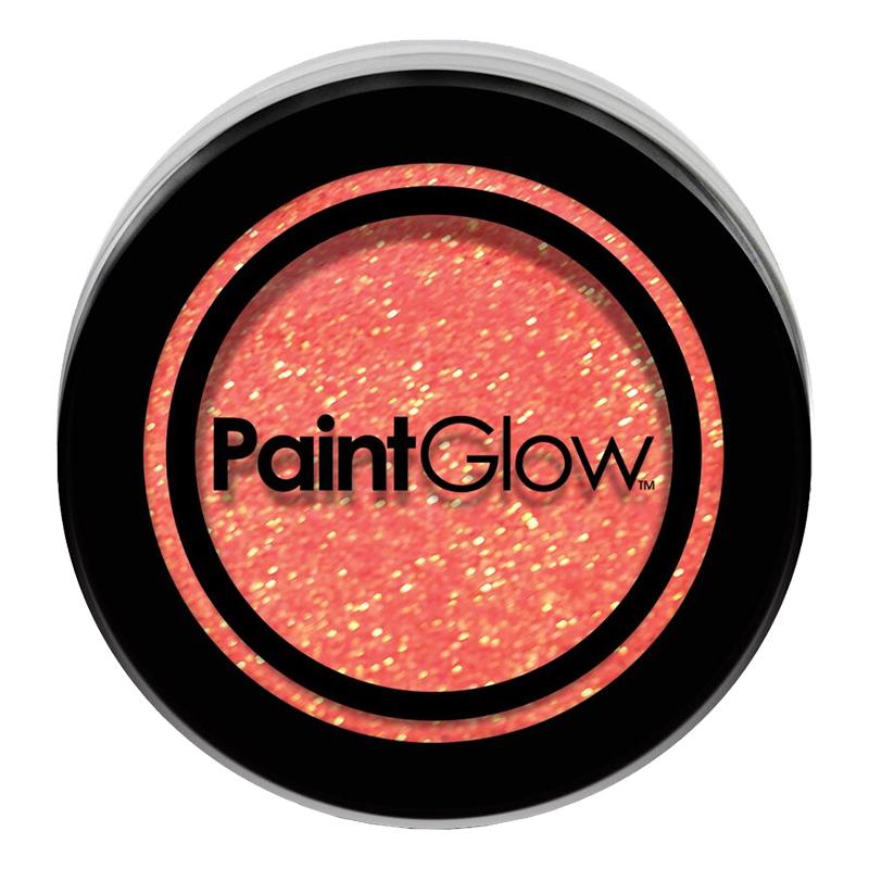 PaintGlow UV Neon Kroppsglitter - Persika