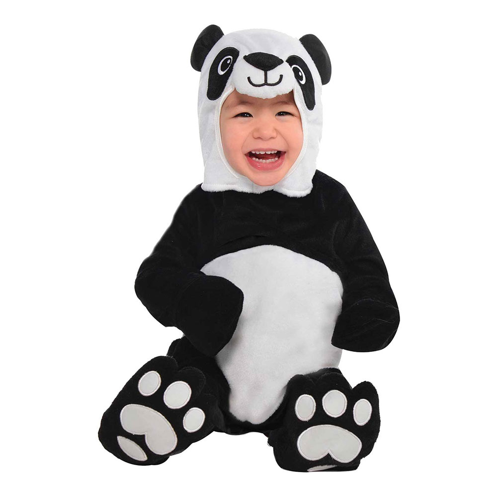 Maskeradkläder Vuxna - Panda Bebis  - Small