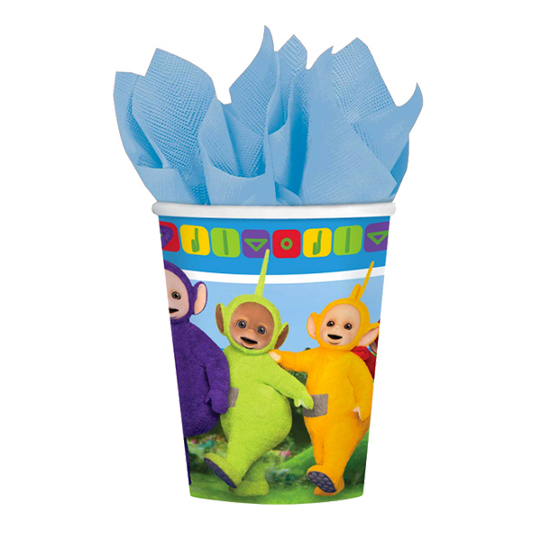 Pappersmuggar Teletubbies - 8-pack