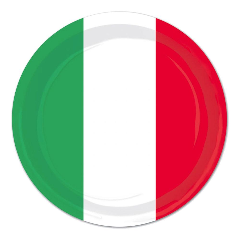 Papperstallrikar Mexiko - 8-pack