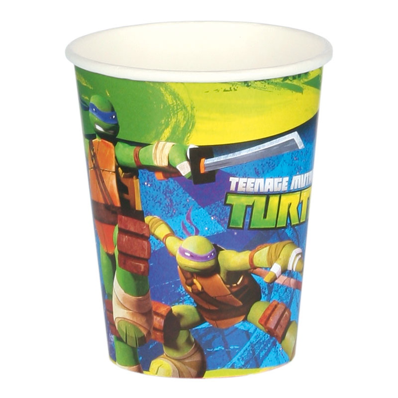 Pappmugg Turtles - 8-pack