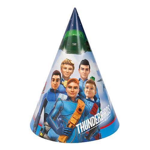 Partyhattar Thunderbirds - 8-pack