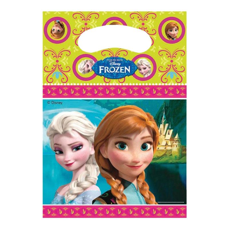 Partypåse Frozen - 6-pack