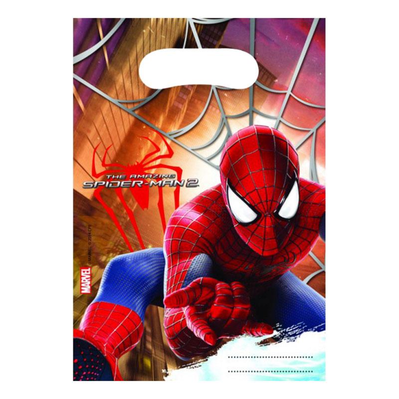 Partypåse Spiderman 2 - 6-pack