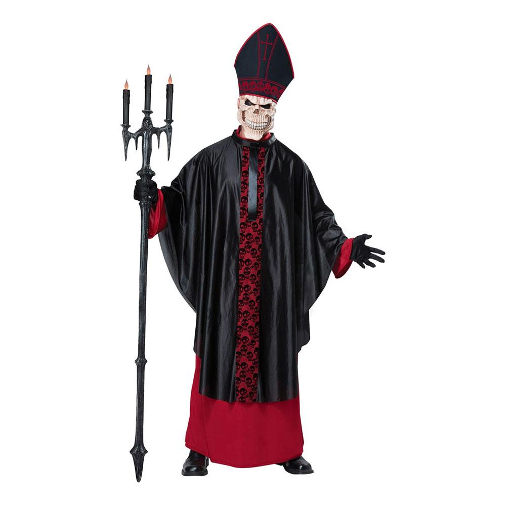 Påve Skelett Maskeraddräkt - Small /Medium