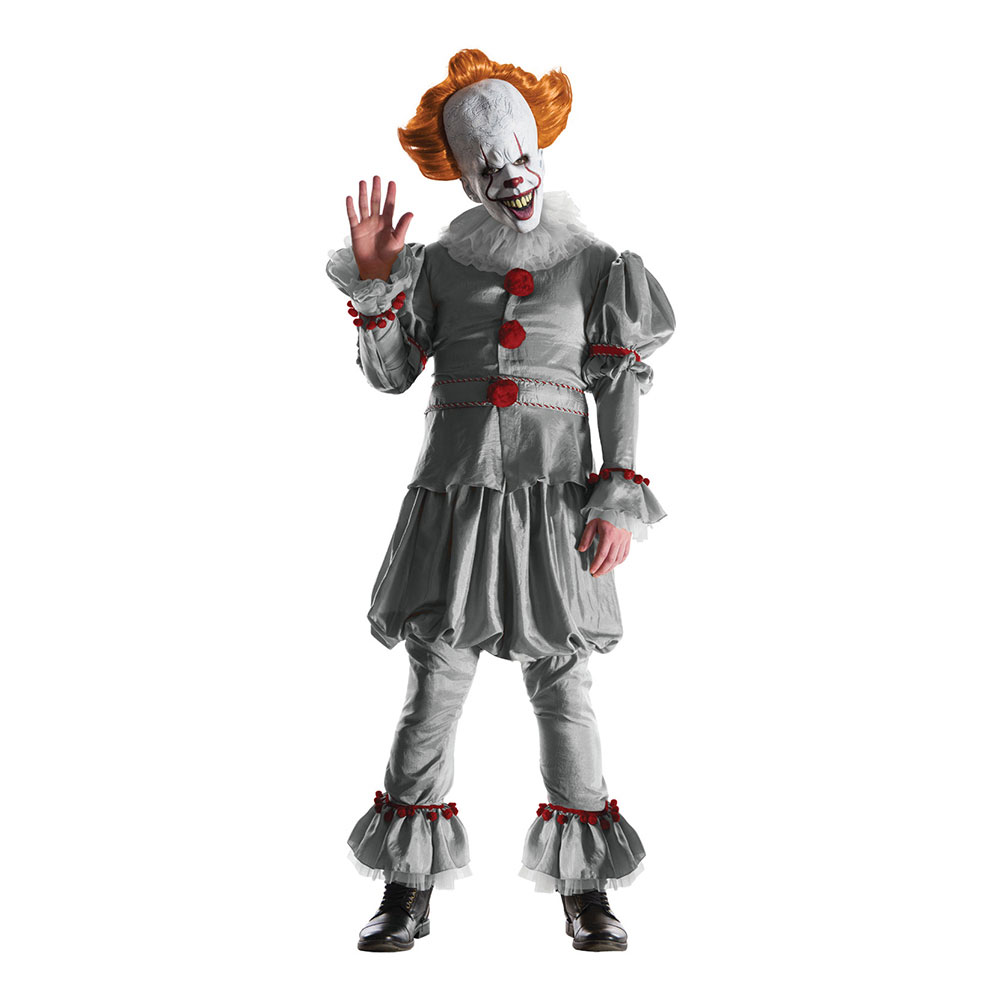 Pennywise Maskeraddräkt - X-Large