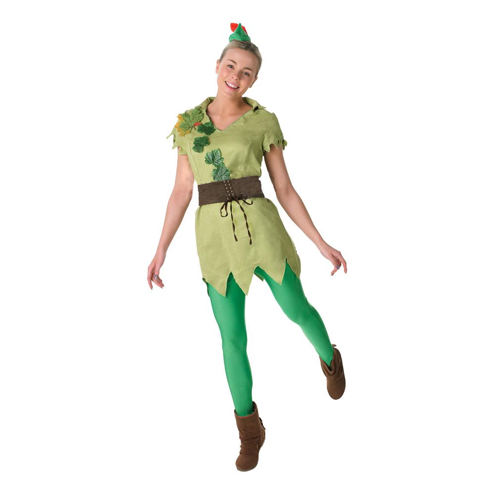 Peter Pan Dam Maskeraddräkt - Small