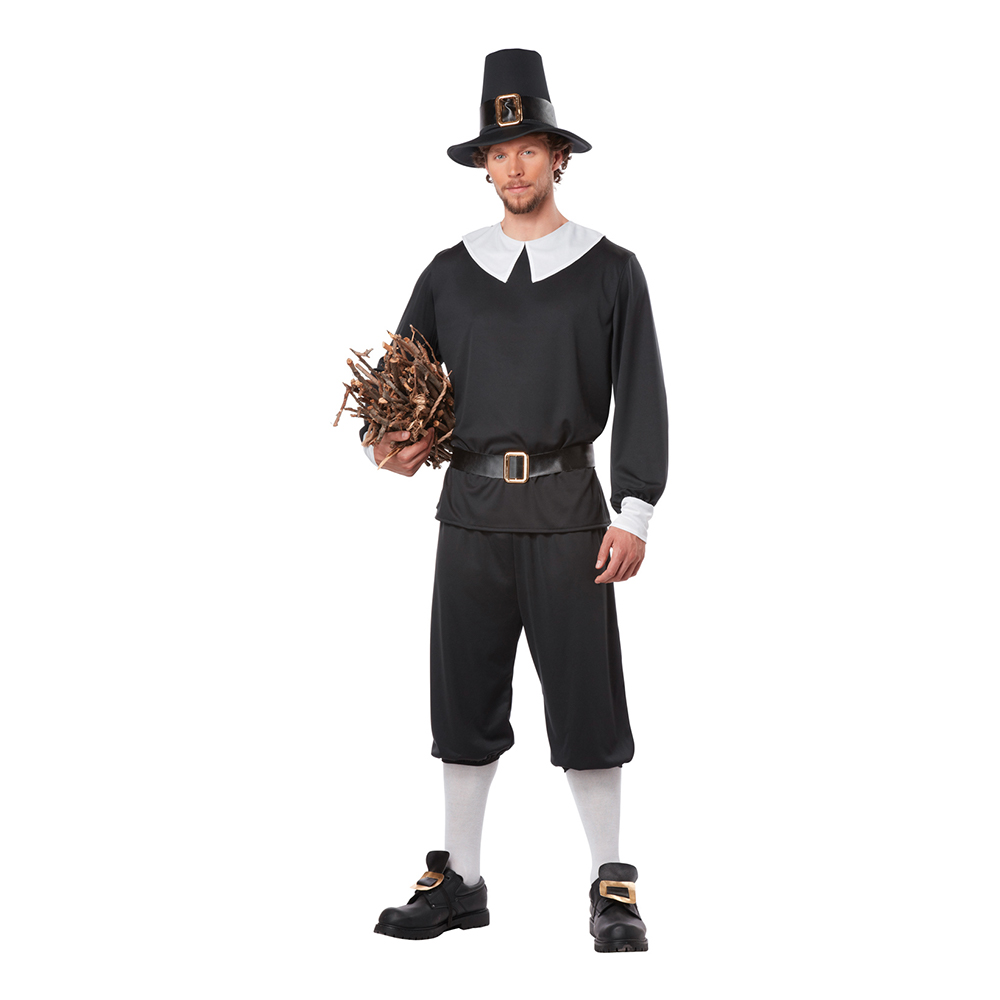 Pilgrim Man Maskeraddräkt - Medium