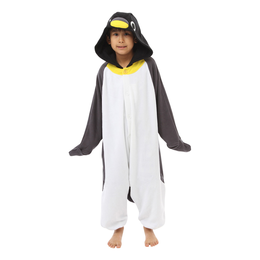 Pingvin Barn Kigurumi - Medium